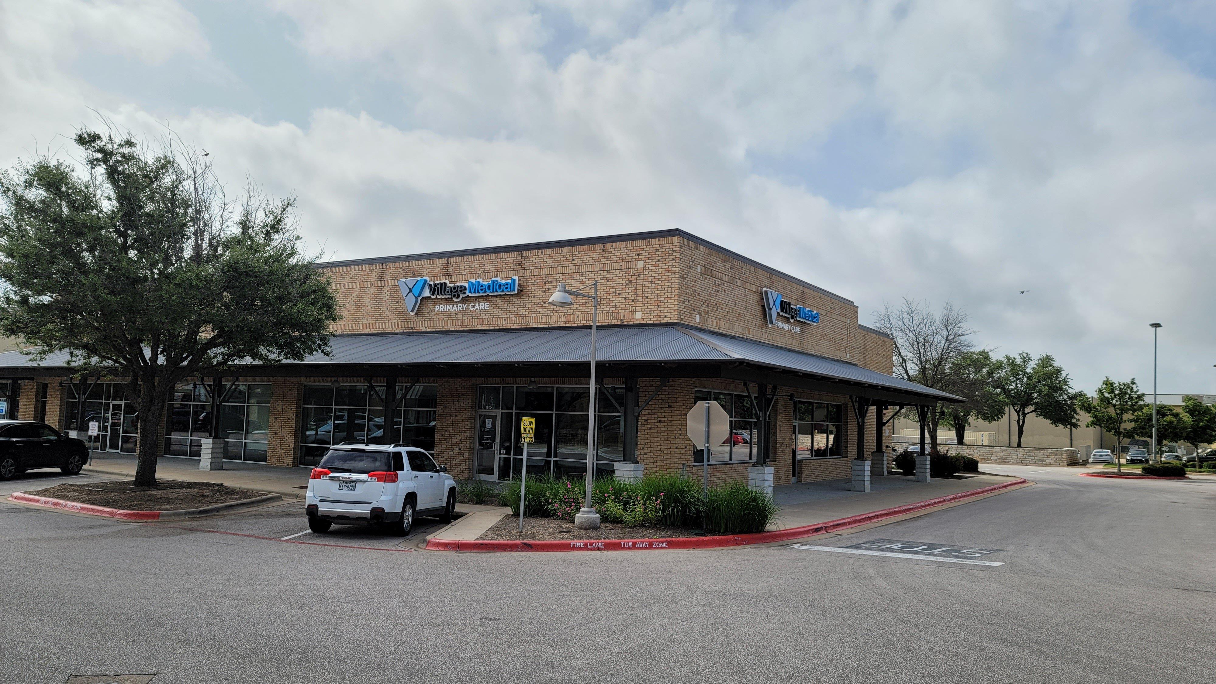 Village Medical - 1335 E Whitestone Blvd. Ste. P100 Cedar Park, TX 78613