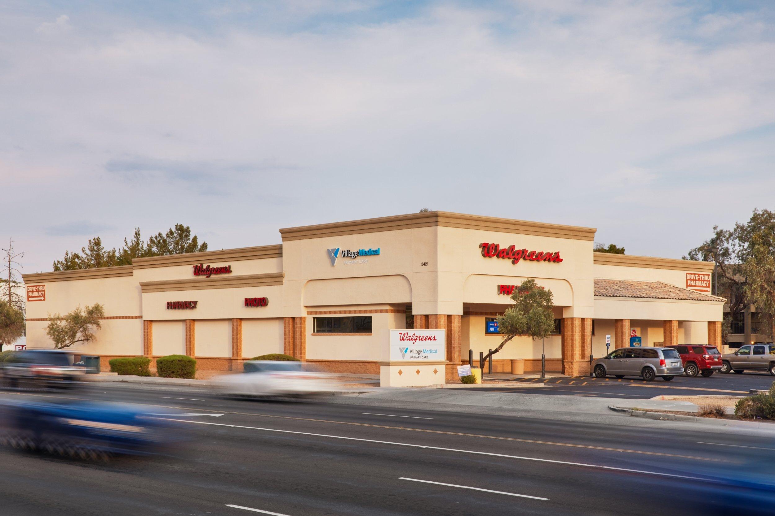Village Medical at Walgreens - 5421 W. Thunderbird Rd., Suite. 110 Glendale, AZ, 85306.