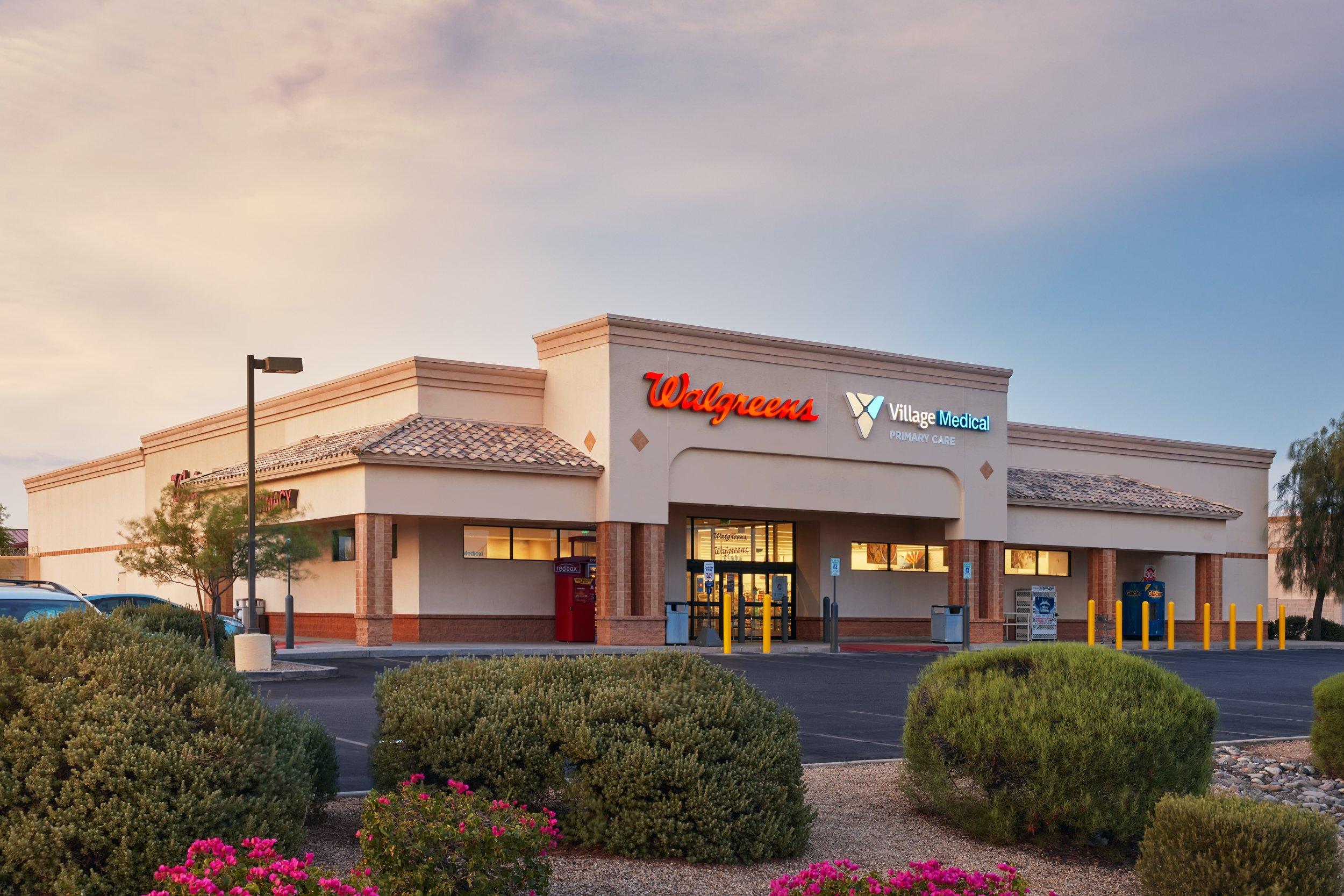 Village Medical at Walgreens - 7448 W. Thunderbird Rd. , Suite 105 Peoria, AZ, 85381.