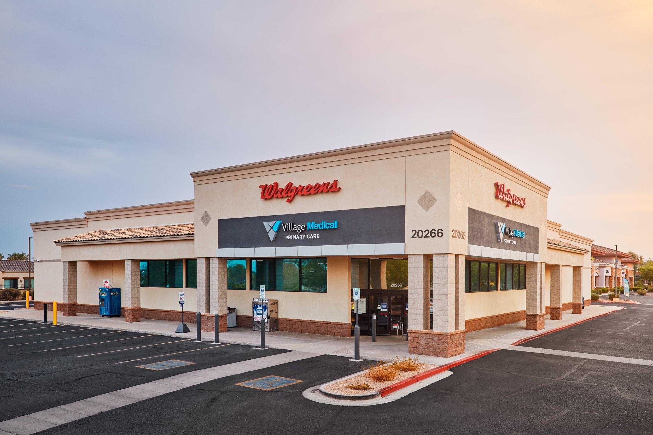 Village Medical at Walgreens - 20266 N. Lake Pleasant Rd.  Ste. 105 Peoria, AZ 85382